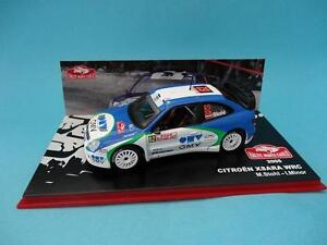 CITROEN-XSARA-WRC-62-STOHL-RALLY-MONTE-CARLO-2005-1-43-NEW-NUEVO-IXO-ALTAYA
