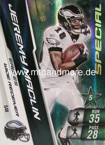#48 Special Adrenalyn XL NFL-Jeremy Maclin-Eagles
