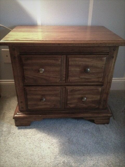 Huntley By Thomasville 2 Drawer Night Stand ~ Nice!