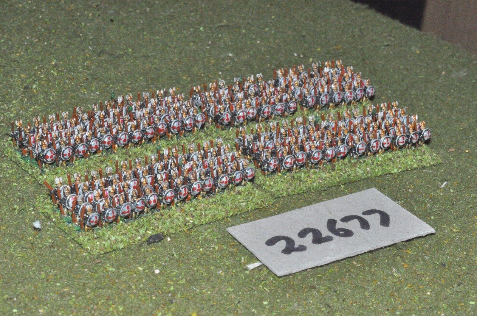6mm época Romana italiano-hoplites 190 figuras-INF (22677)