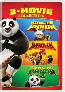 Kung Fu Panda 3 Movie Collection 1 2 3 4 Disc Dvd New 191329061749 Ebay