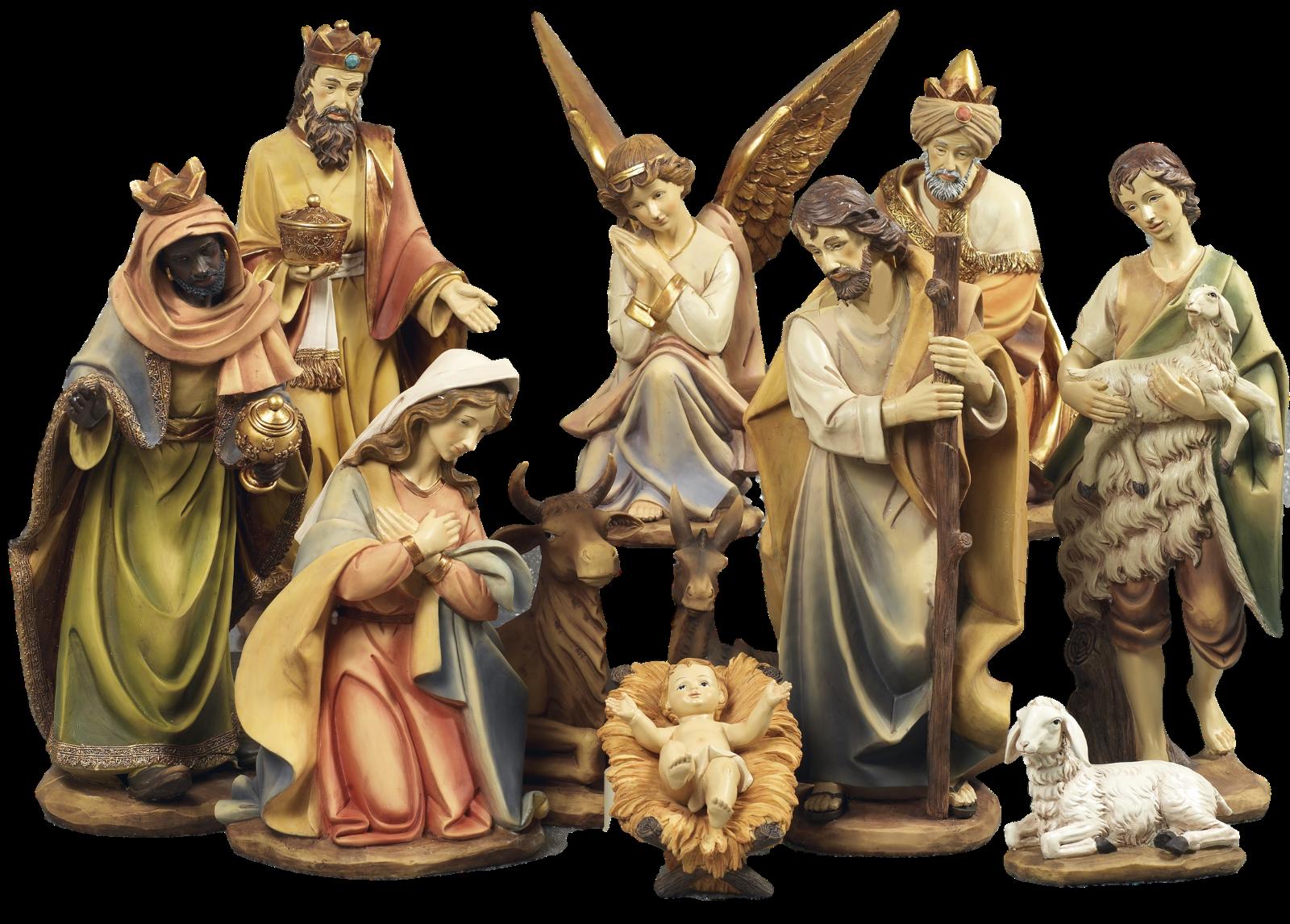 Set Presepe Natività, 11 43 cm, 11 Natività, soggetti in resina, by Paben b32902