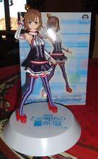 Figure figura anime manga - Misaka Mikoto costume - Aru Majutsu SEGA ORIGINAL