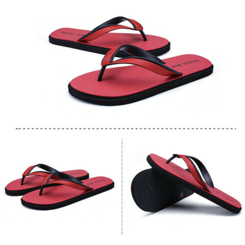 Men/'s Casual Fashion Clip orteil Tongs Sandales Pantoufles Plage Marche Swim