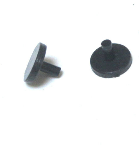 Pair of Graham Farish plastic coach bogie frame fixing pegs for OO gauge coaches