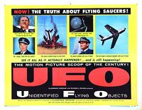 Ufo Movie Poster (1956) Indie/documentary