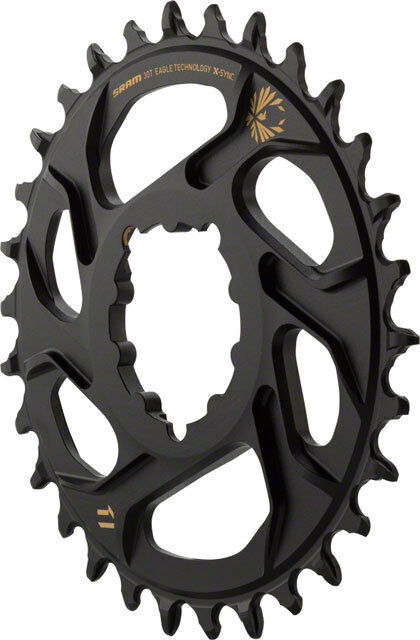 SRAM Eagle 1x X-Sync 2 Direct Mount 3mm Offset Boost MTB Chainring gold - 34t