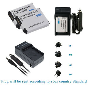 Battery Charger for Nikon Coolpix AW100