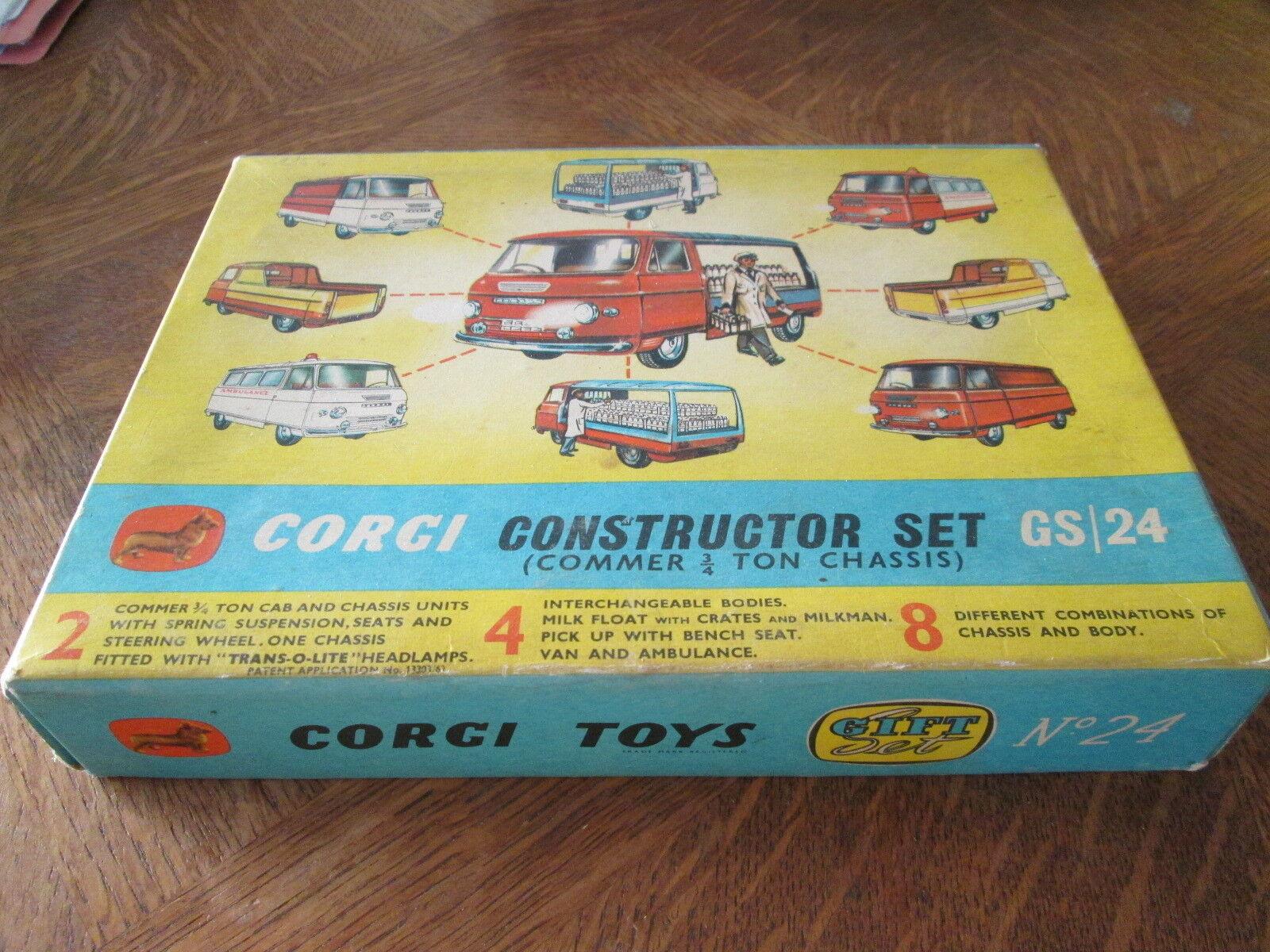 Corgi Toys Gift Set 24  Constructor Set  Complet, Vintage No Dinky, No Solido