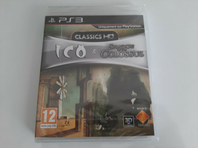 Sony Playstation 3 PS3 Classics HD Ico & Shadow of Colossus - PAL FR - Neuf New