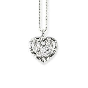 New thomas sabo heart necklace ke1542 paisley design sterling silver image is loading new thomas sabo heart necklace ke1542 paisley design aloadofball Choice Image