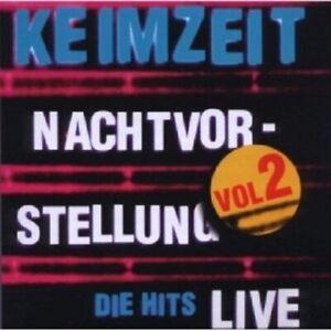 KEIMZEIT-NACHTVORSTELLUNG-DIE-HITS-LIVE-VOL-2-CD-14-TRACKS-DEUTSCH-ROCK-NEU