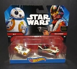 2014-Mattel-Hot-Wheels-Star-Wars-TFA-BB-8-and-Poe-Dameron-Car-Ships-2-pack