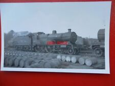 PHOTO  LMS EX MIDLAND 4-4-0 COMPOUND LOCO NO 41035 AT DERBY 25/9/48