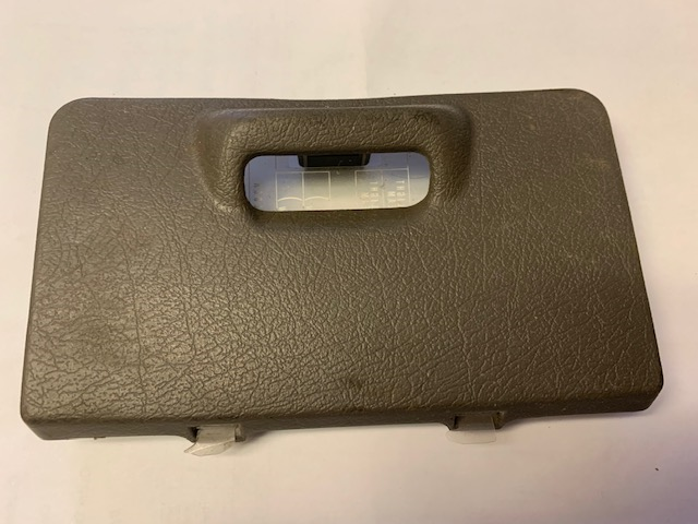 1996 Acura Integra Tan Lower Dash Fuse Cover Panel