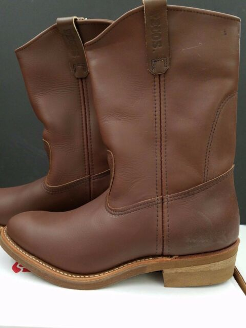 f0da775cdc9 Red Wing USA Pecos BOOTS 1155 Engineer Trucker Contractor Size 11 1/2
