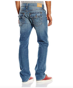NWT-True-Religion-Men-039-s-Big-amp-Tall-Ricky-Relaxed-Straight-Fit-Jean-SZ-48x33