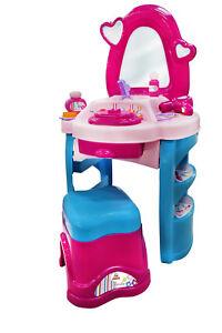 Polesie-Salon-Beauty-Diana-Nr-3-Schminktisch-Frisiertisch-Kinder-Rosa-44679