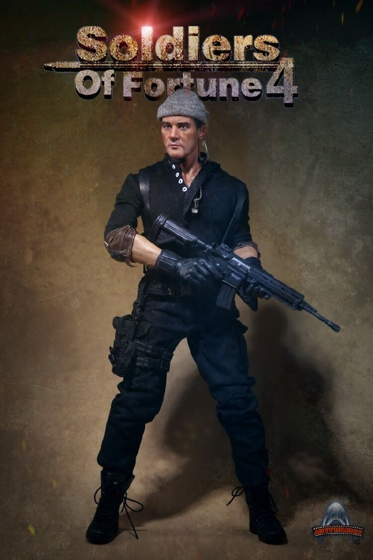 1 6 Art Figures AF-023 AF023 The Expendables Soldiers Of Fortune 4