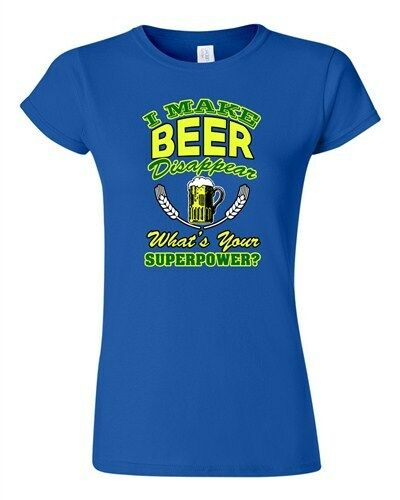 Junior I Make Beer Disappear What/'s Your Superpower Funny Drunk DT T-Shirt Tee