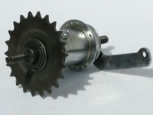 Bicycle; Vintage Sturmey Archer Rear Coaster Brake Hub; 40 Hole