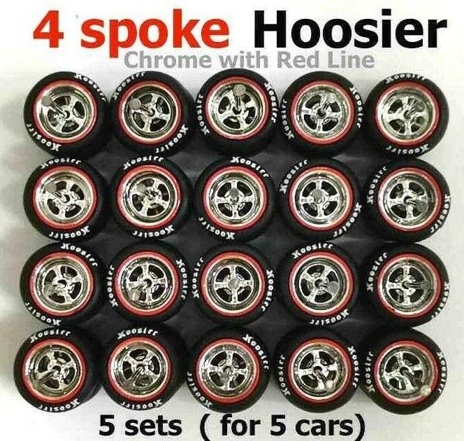 saludable 1 64 ruedas Hoosier Hoosier Hoosier Neumáticos De Goma Ajuste Hot Wheels Japón histórico Diecast - 10 Juegos  nueva gama alta exclusiva