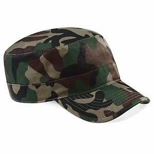 Armycap-Military-Camouflage-Kuba-Fidel-Militaer-Tarnfarbe-Geschenk-Army