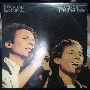 SIMON & GARFUNKEL The Concert in Central Park Live DOUBLE Album Released 1982USA