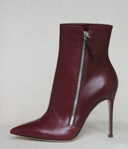 Sergio Rossi Leather Ankle Boots Gr. IT 37.5 muBPLhLue