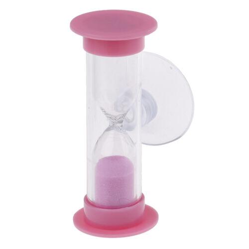 Toothbrush swivel sand timer 2 minutes shower timer kids mini glass sand clRDHC