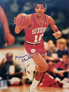 d36aac66f78e Image is loading Maurice-Cheeks-Signed-Philadelphia-76ers-8x10-Photo