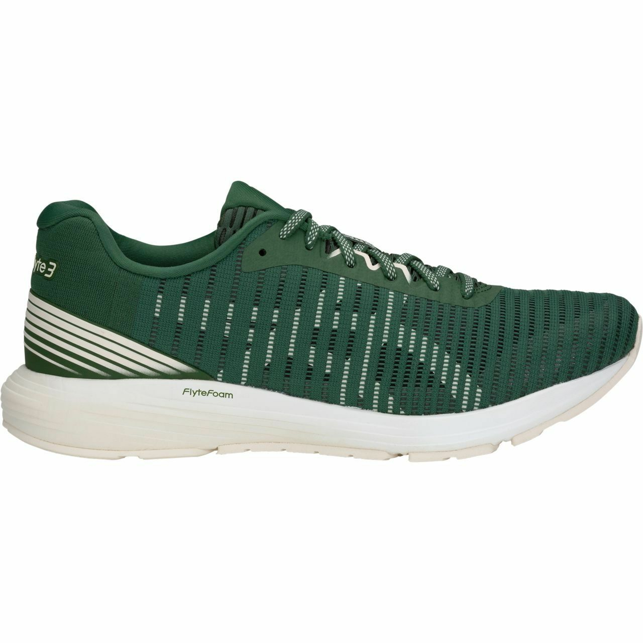 ASICS 1011A185-300 dynaflyte 3 solide Vert chasseur Crème Homme Chaussures De Course