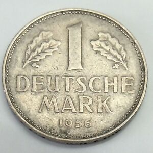 Image Is Loading 1956 D West Germany One 1 Bundesrepublik Deutschland