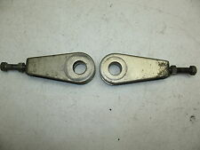 1978 SUZUKI GS 550 E GS550E REAR WHEEL RIM CHAIN ADJUSTERS + GOOD BOLTS + NUTS