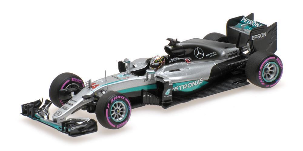 Mercedes F1 Lewis Hamilton Ganador Abu Dhabi Gp 2016 1 43 Escala Minichamps