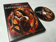 The Hunger Games: Catching Fire (DVD, 2014) free shipping