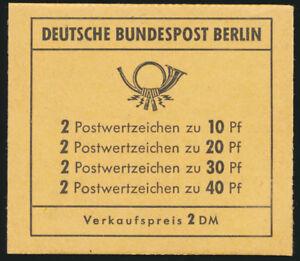 BERLIN-1972-MH-8-b-tadellos-postfrisch-Mi-160