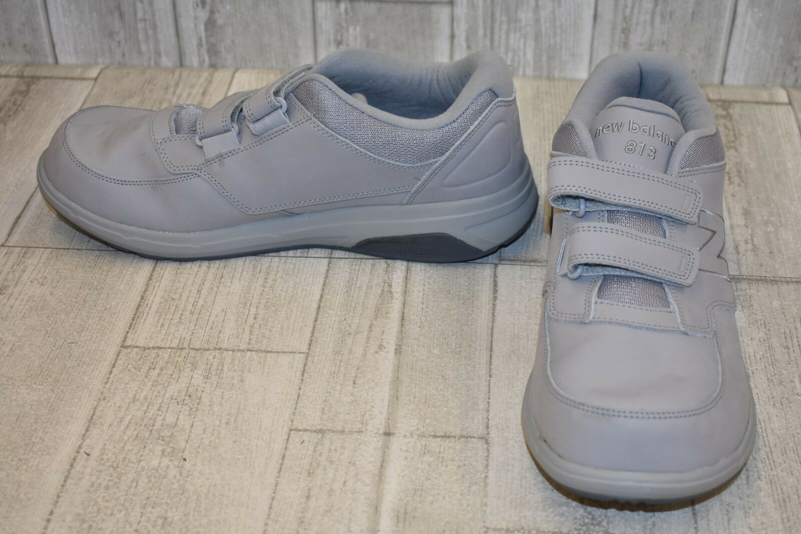 New Balance 873 Hook & Loop Walking shoes, Men's Size 11-2E, Grey