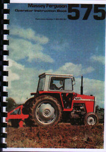 manual tractor massey ferguson 575