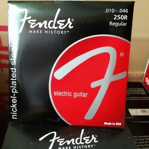 1-Pack-Fender-Electric-Guitar-Strings-250R-Set-10-46-Nickel-plated-Steel-Strings