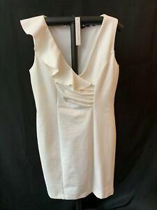 a9a5850c15b Image is loading Adrienne-Vittadini-Women-039-s-Dress-White-Cream-
