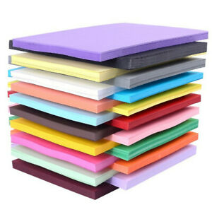 50-Pack-Coloured-Paper-Card-A4-260gsm-Bright-Pastel-Art-Drawing-Printer-Papers