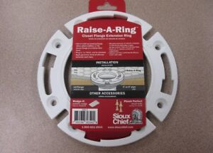 Details about Sioux Chief Raise a Ring Closet Flange Extension Ring #886-R  New Free Shipping!