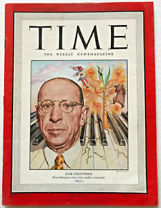Vintage-1948-Igor-Stravinsky-TIME-MAGAZINE-Photo-Cover-Feature-Rite-Of-Spring