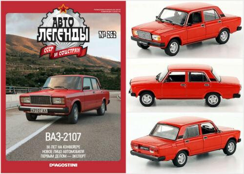 1:43 Limousine LADA 2107 Nova russian DeAgostini Nr.262  UdSSR USSR DDR