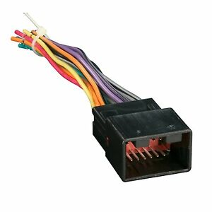 metra aftermarket radio wiring harness    ford
