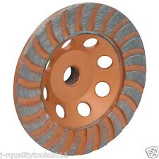 "4 1/2"" INCH DIAMOND CUP GRINDING GRINDER WHEEL FOR STONE CONCRETE SURFACING"