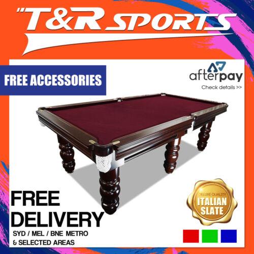 8FT Luxury Slate Pool Billiard Snooker Table