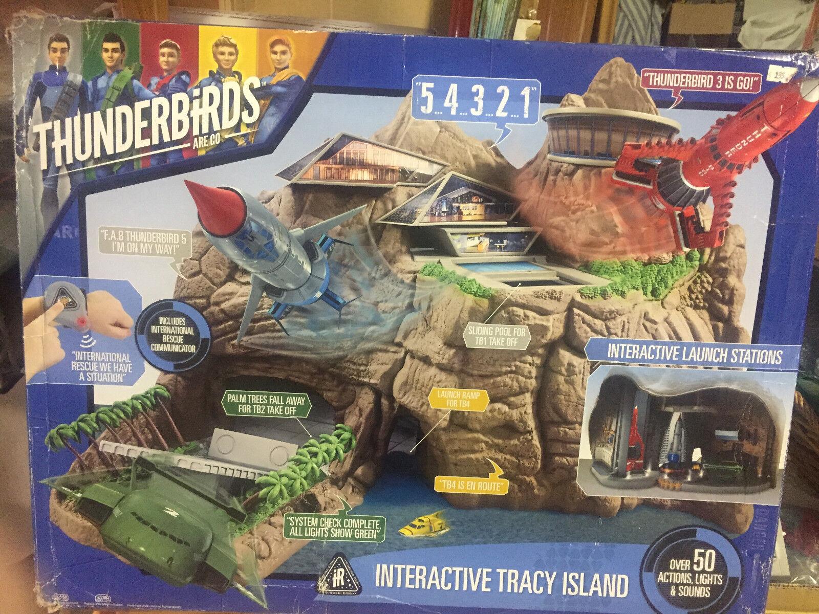 Thunderbirds isola base  Sound Vehicle SeT action figure thunderbirds giocattoli