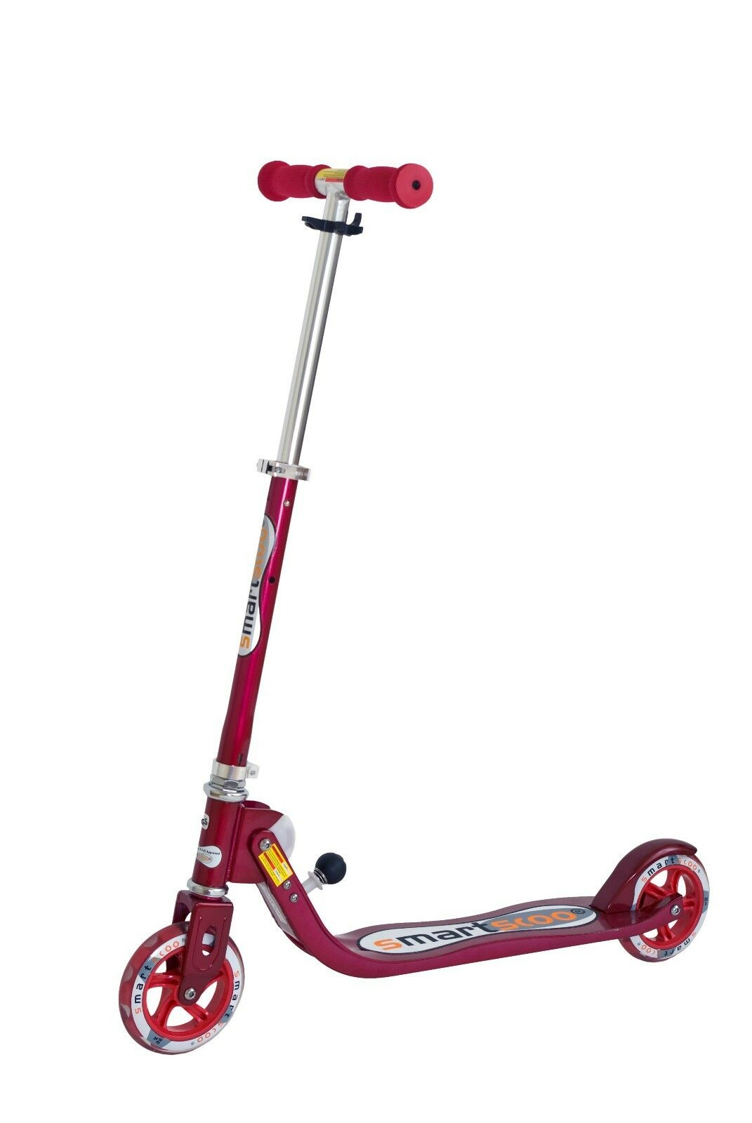 Scooter Smartscoo Big Wheel 144 mm ROT ROT Roller Cityroller von Area Trotinette